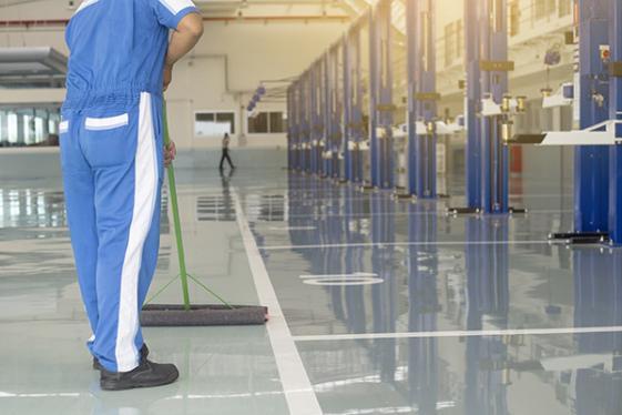 Nettoyage industriel à Trappes