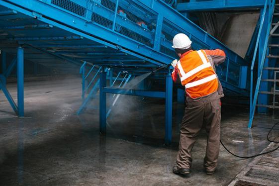 Entreprise de nettoyage industriel à Trappes